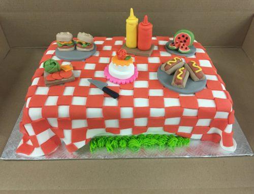 Gâteau de pique-nique