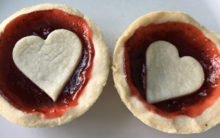 gluten free jam tart