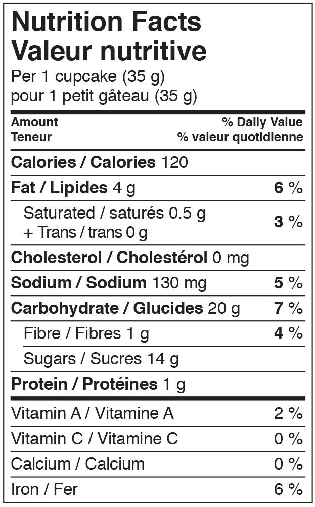 Mini gâteaux Végétalien CHOCOLAT NFT