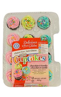 petit gateaux couleurs et confetti sans gluten
