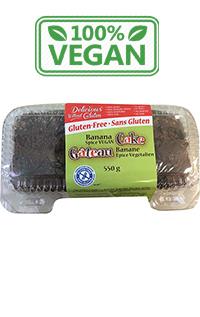 gluten free vegan banana cake