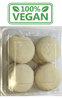 gluten free vegan lemon cookie